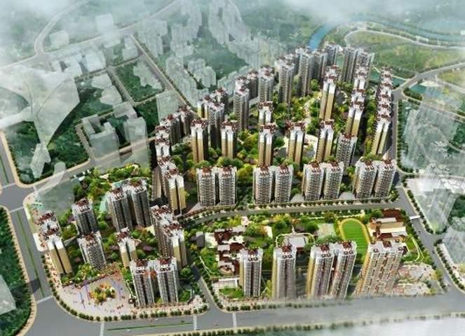 碧阳国际城效果图