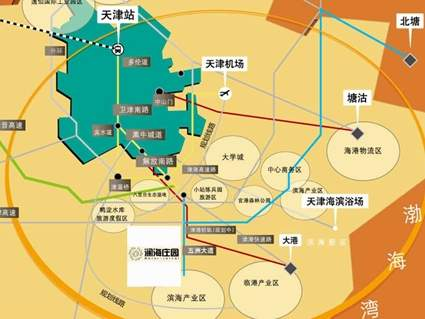 澜海庄园位置图