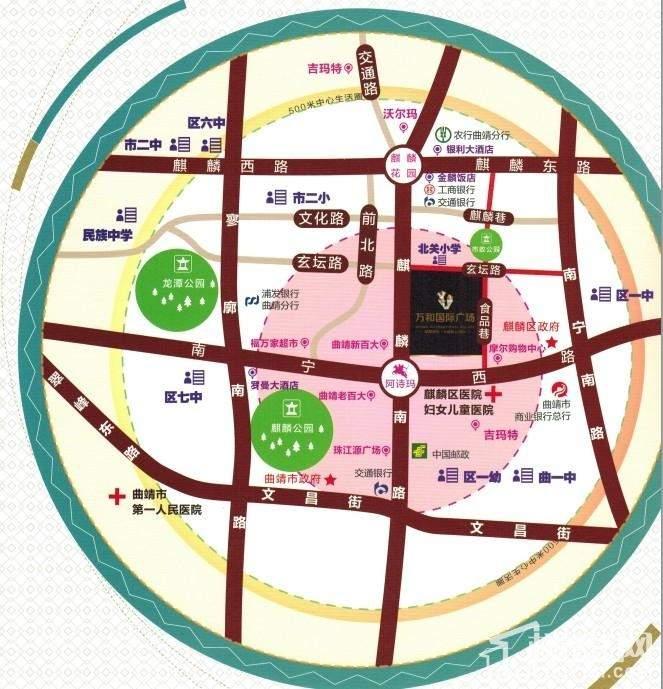 万和国际广场位置图
