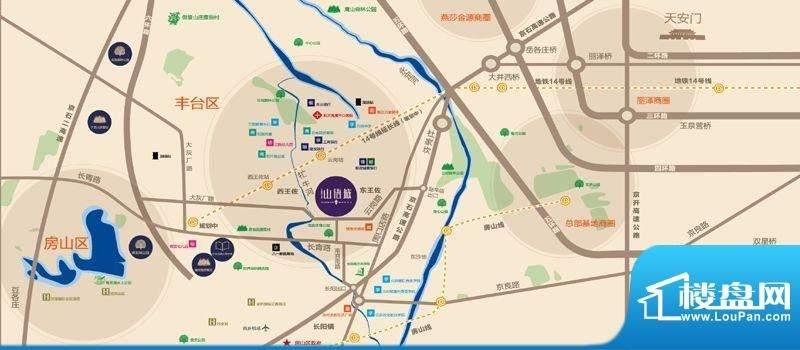 中国铁建北京山语城位置图