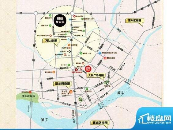 襄阳朗曼梦公园位置图