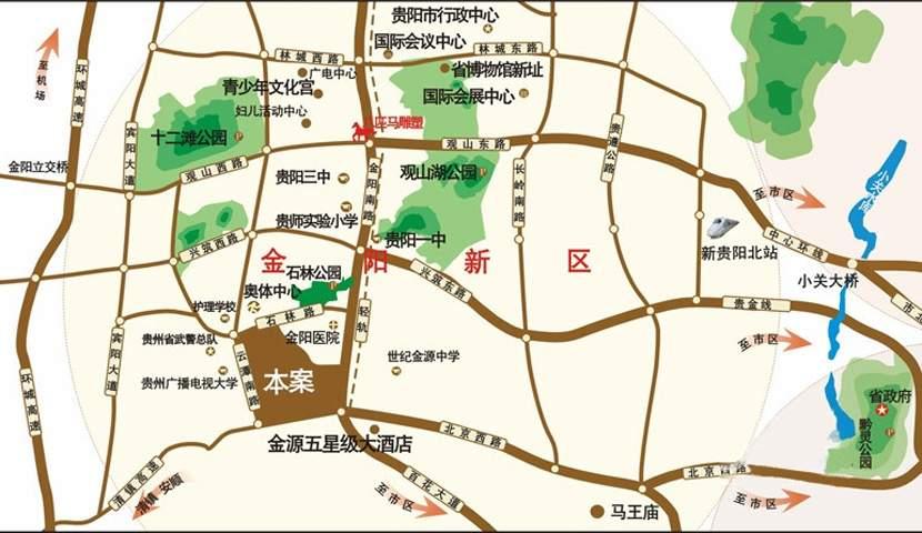 中铁逸都国际位置图