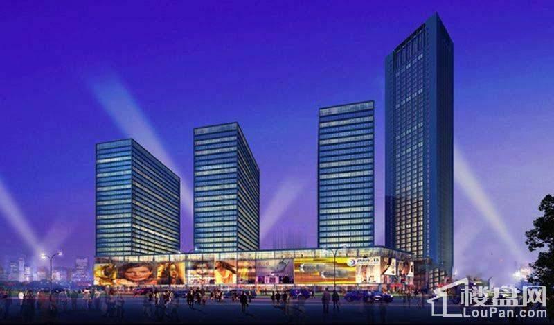 熙汇广场实景图