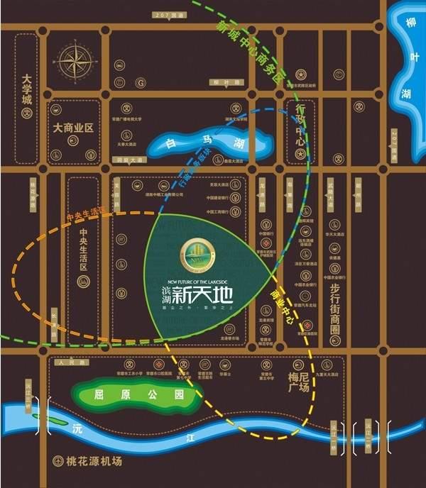滨湖新天地位置图
