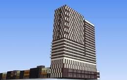 西美五洲大厦效果图