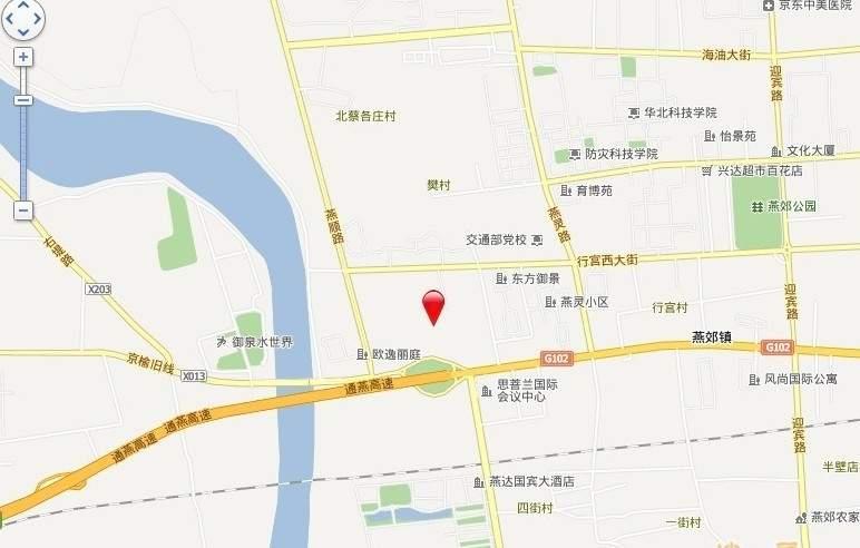 东茂国际广场位置图