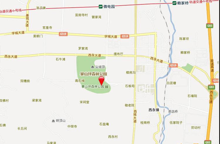 康田漫香林位置图