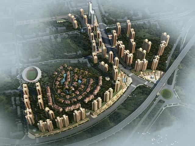 惠邦国际城效果图