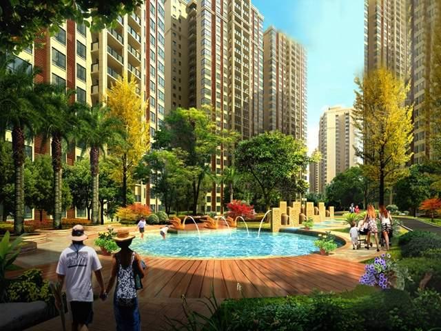 惠邦国际城实景图