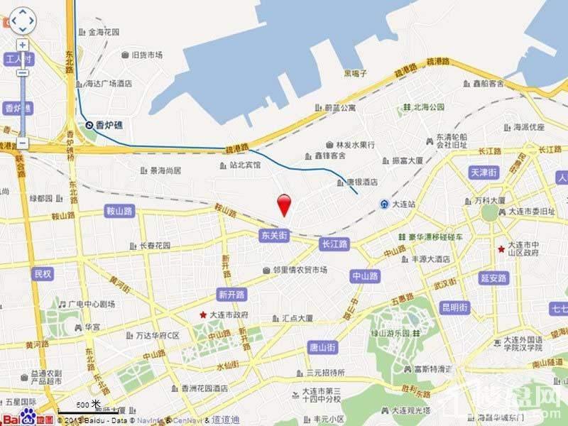 悦泰福里位置图