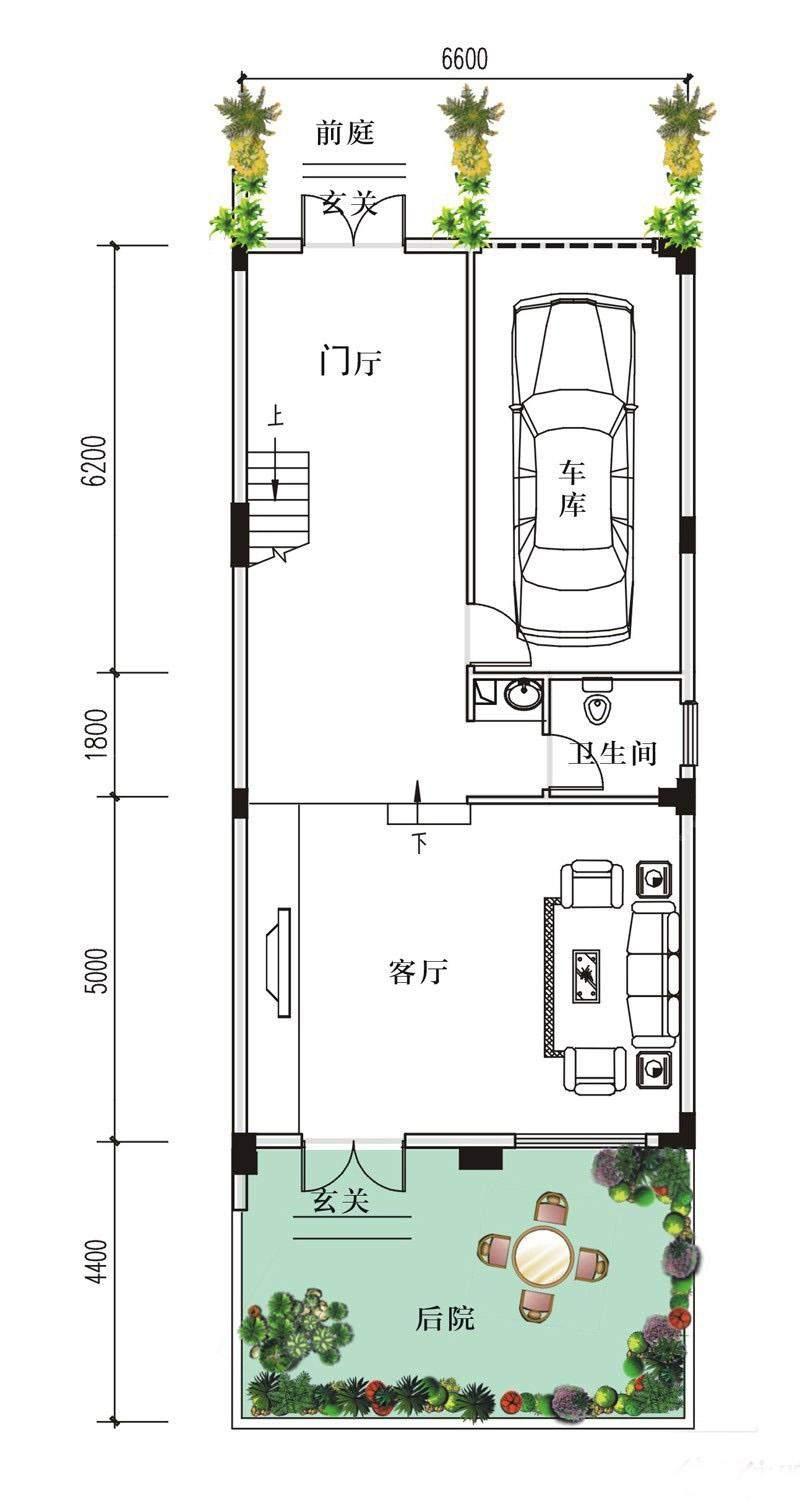 6-9-10-13#C户型1楼