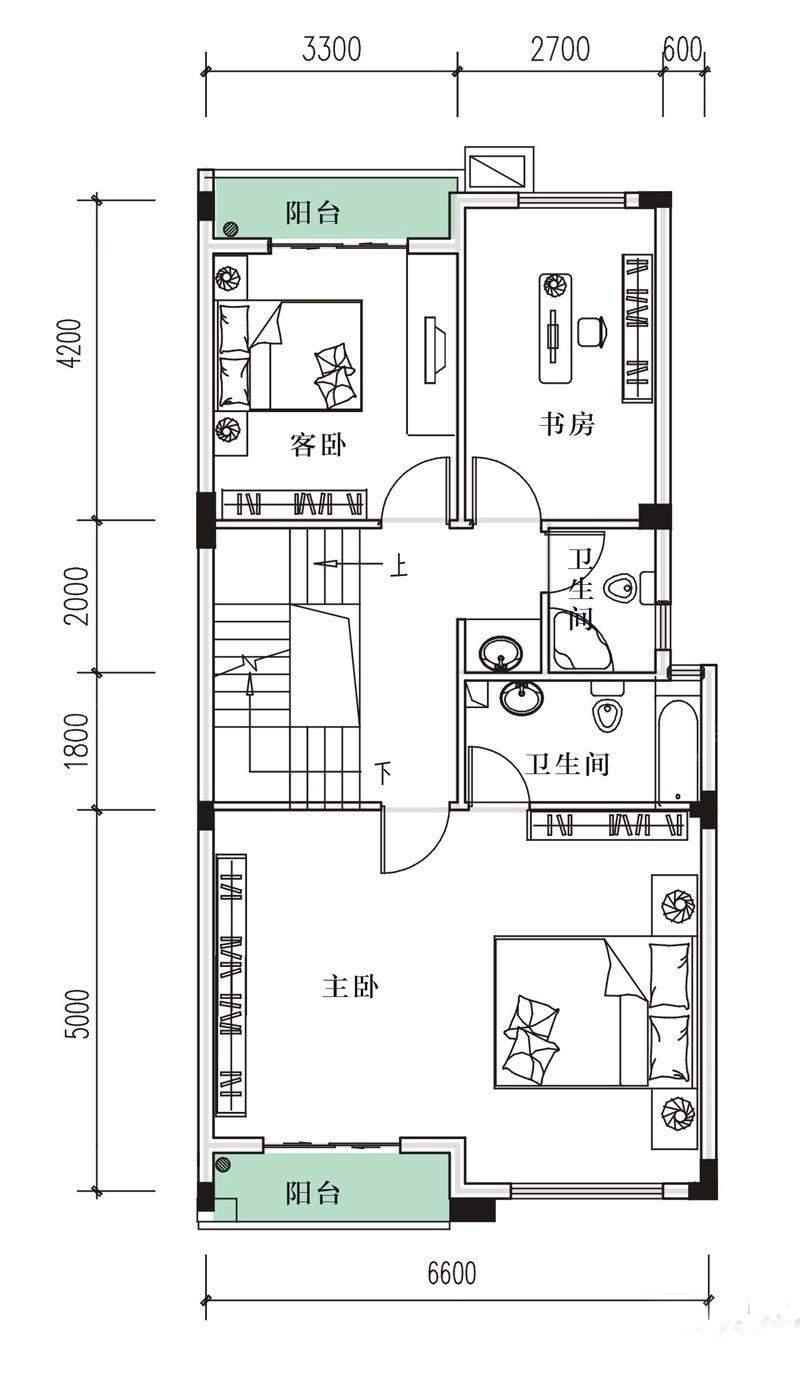 1-2-3-5#B户型3、4楼