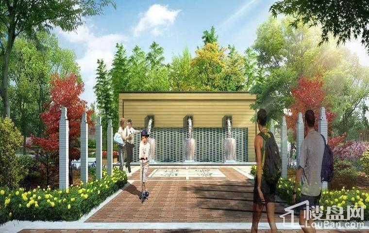 北京自在城效果图园林