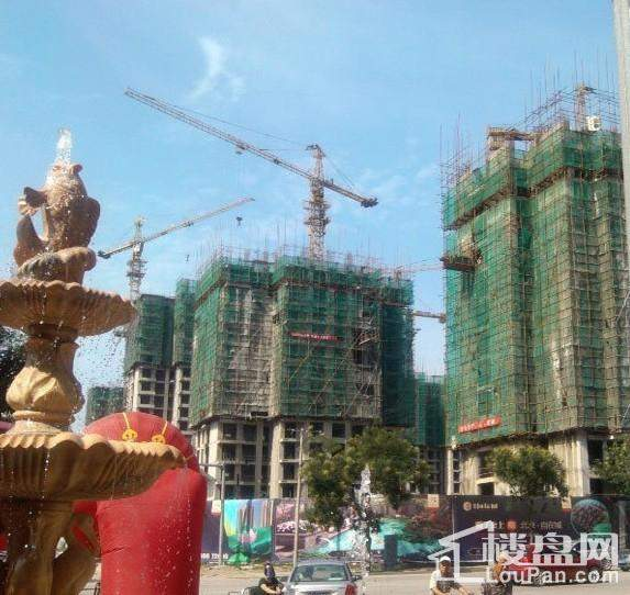 北京自在城实景图施工