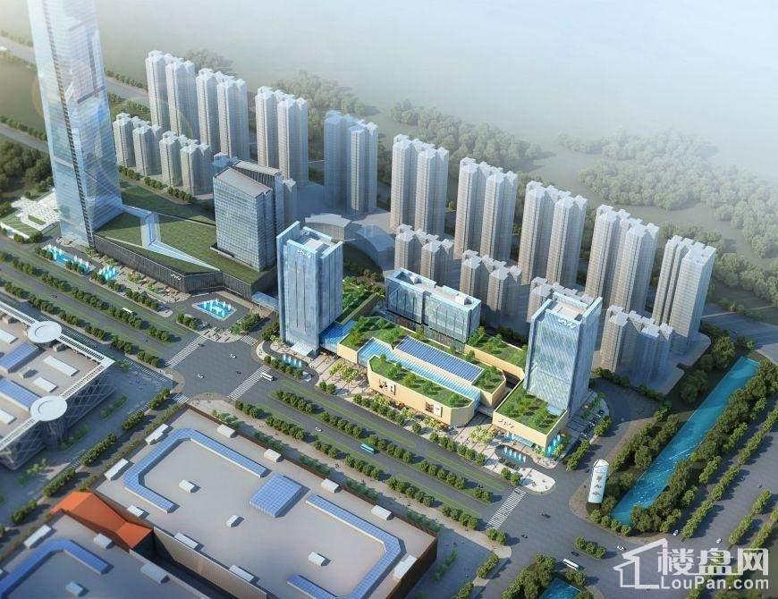 华南城效果图