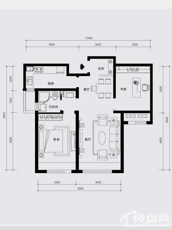 2#-3#楼B5户型