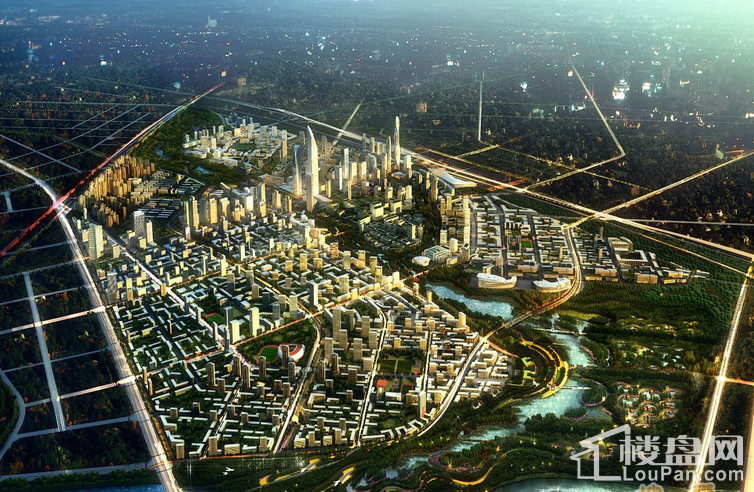 北京新房 通州区新房 泰禾1号街区图片