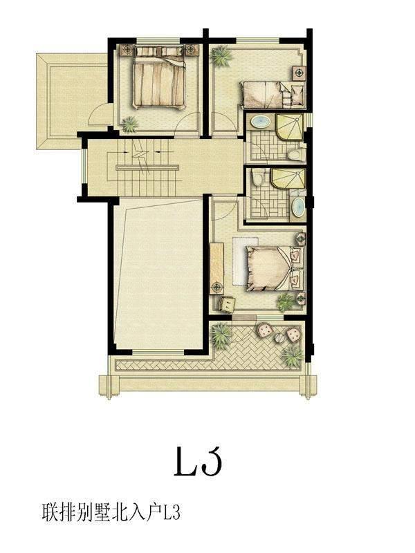 联排北L3(地下二层)