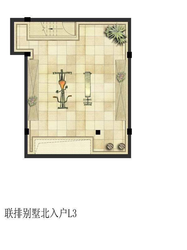 联排北L3(地下一层)