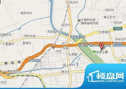新华联运河湾位置图