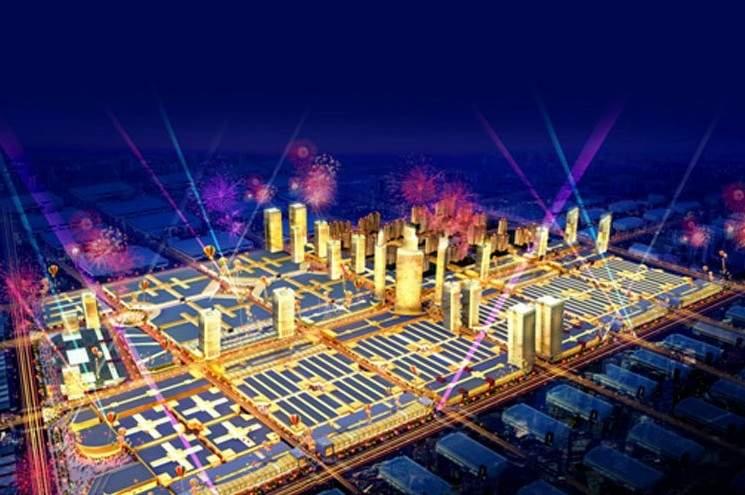 香江全球家居CBD实景图