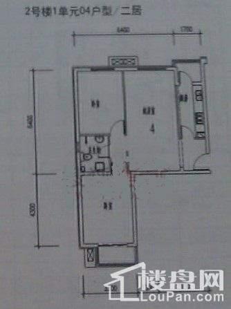 宏仁家园户型图
