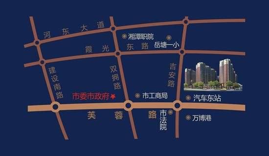 鸿达金域世家商铺位置图