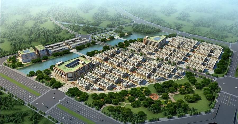温州国际机电城效果图