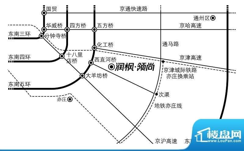 润枫领尚位置图