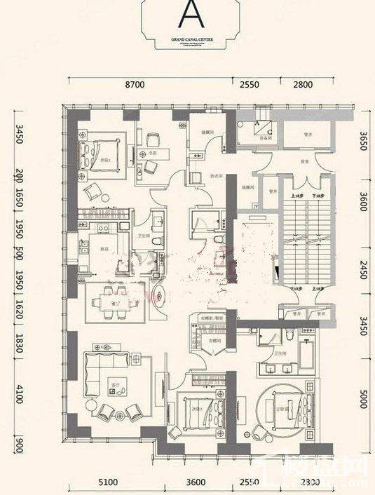 京杭广场户型图