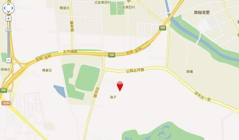 中信新城位置图