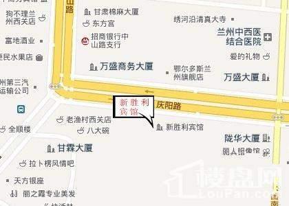 胜利广场位置图