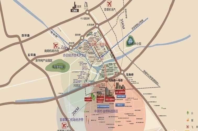 合生世界村位置图