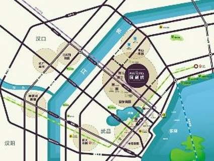 保利城位置图