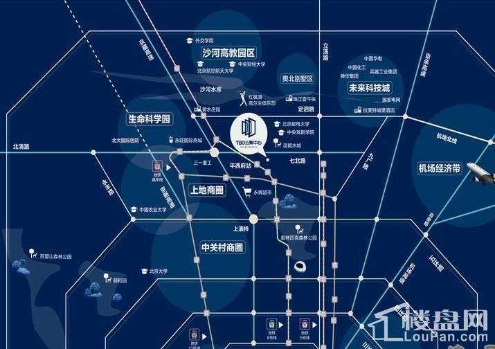 TBD云集中心位置图
