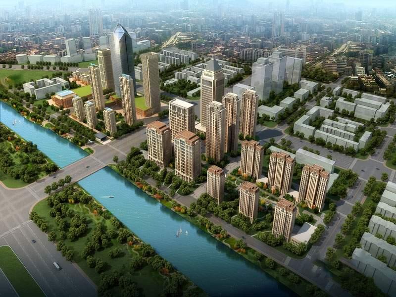 天津诺德中心实景图