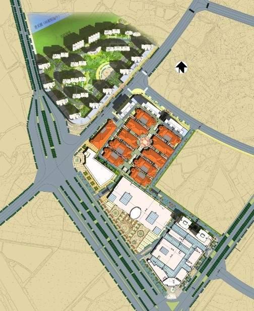 豪威城市广场位置图