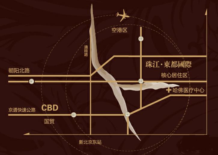 珠江东都国际位置图