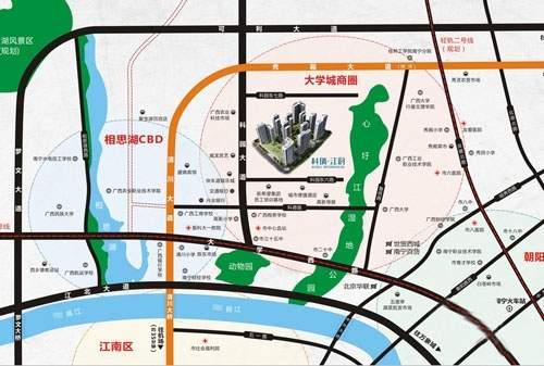 科瑞江韵位置图