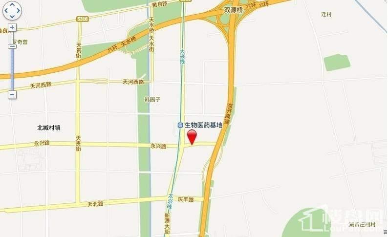 北京明发广场位置图