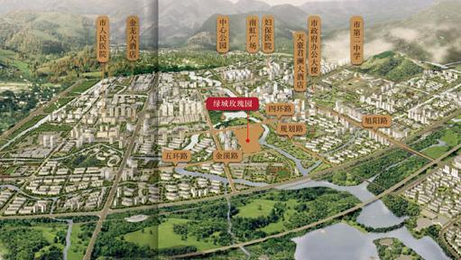 乐清·绿城玫瑰园位置图