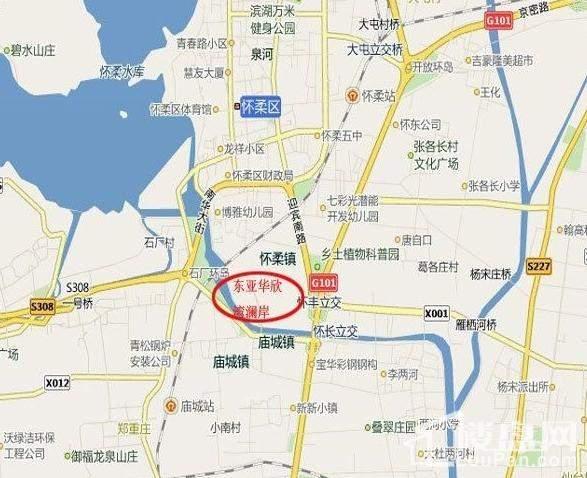 东亚华欣湾位置图