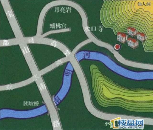 中天世纪新城位置图