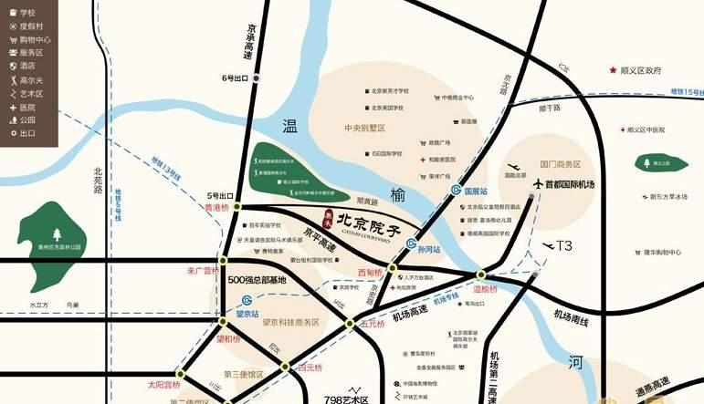 泰禾北京院子位置图