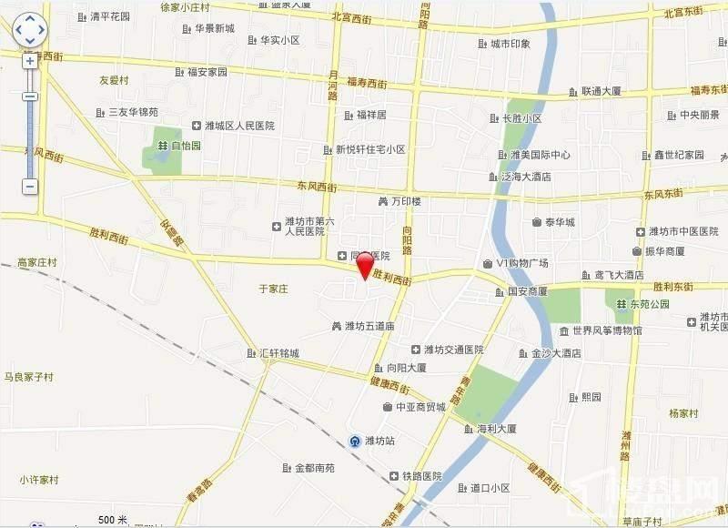 五道庙小区位置图