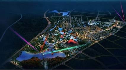 贵州多彩文化万象旅游城位置图