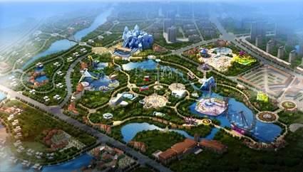 贵州多彩文化万象旅游城效果图
