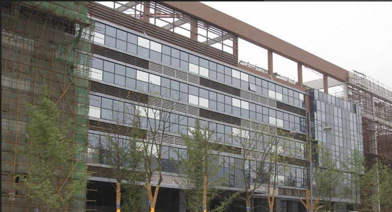 利安中小企业总部综合体实景图