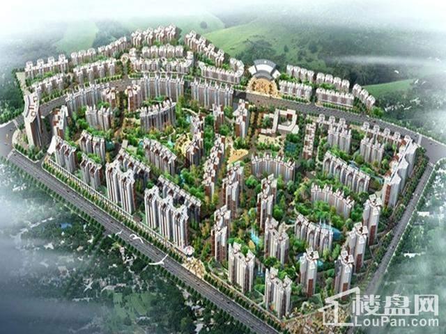 钢城花园规划图