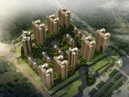 光辉社区·汉江国际效果图
